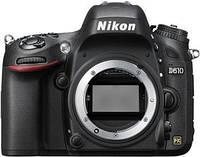 VBA430AE Цифр. фотокамера зеркальная Nikon D610 Body, VBA430AE