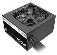 Блок питания Thermaltake TR2 S 700W,12cm fan, a/PFC,24+8,5xPeripheral,1xFDD,6xSATA,2xPCIe, PS-TRS-0700NPCWEU-2