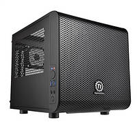 Корпус Thermaltake Core V1,без БП,2xUSB3.0, черный,mini-ITX, CA-1B8-00S1WN-00