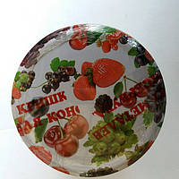 Евро крышки твист офф-82  с рисунком (ягоды)