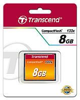 Карта памяти Transcend  8GB CF 133X, TS8GCF133