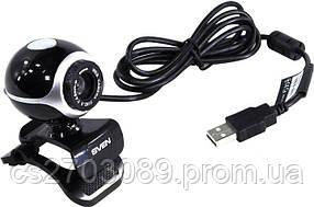 Веб-камера Sven IC-300 black-silver