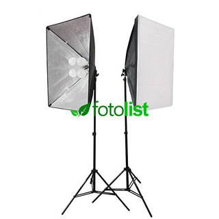 Набор постоянного диодного света Arsenal LED SLH-5070-8, 8х12w, 1200 Вт, 5500К