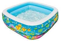 Детский надувной бассейн Голубая лагуна