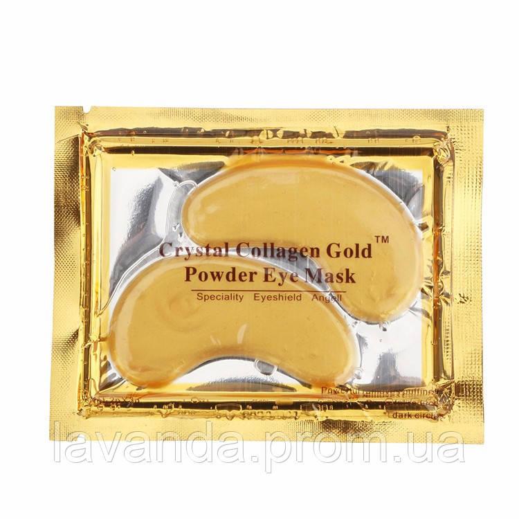Crystal Collagen Gold золотая маска-патч  для зоны под глазами