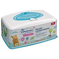 Babydream extra sensitive Feucht-Comforttücher - Влажные салфетки для очищения кожи ребенка, гипоаллергенные