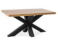 Журнальный столик деревянный Cross B SIGNAL