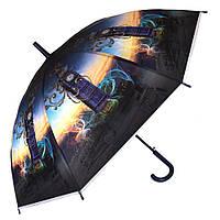 Силиконовый зонт-трость 429-2 London