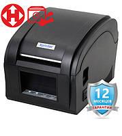 ✅ Принтер Xprinter XP-360B для этикеток/бирок/наклеек Термопринтер