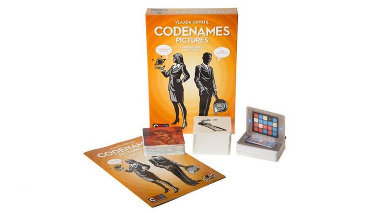 Настільна гра Кодові імена Картинки (Codenames Pictures), фото 2