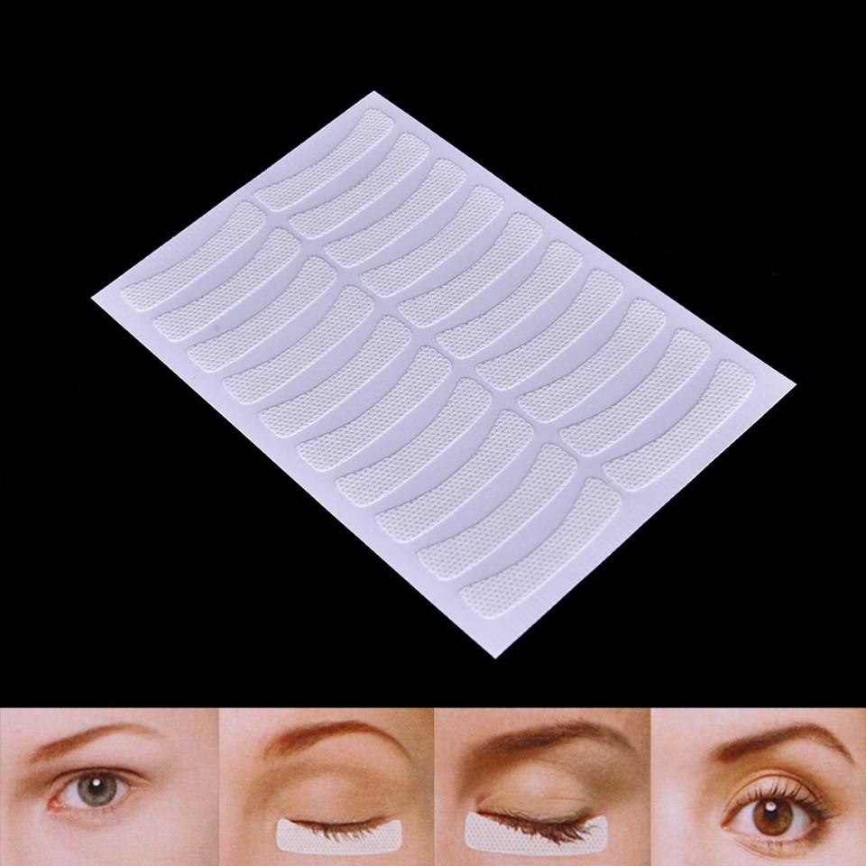 Тканевые патчи на листе для изоляции ресниц (10 пар на листе)
