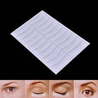 Тканевые патчи на листе для изоляции ресниц (10 пар на листе), фото 1