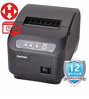 ✅ Xprinter XP-Q200II Принтер чеків з автообрезкой USB+Serial 80 мм