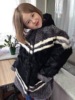 Натуральная шуба детская для девочки из нутрии