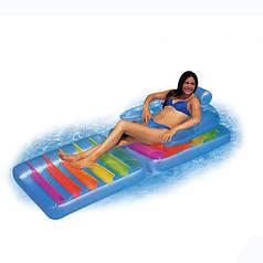 Пляжное надувное кресло рр:198х94 см. Intex 58870