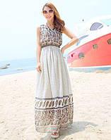 Женское летнее платье с этно рисунком РМ7047