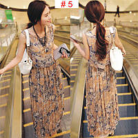Женское летнее платье цветное РМ7048