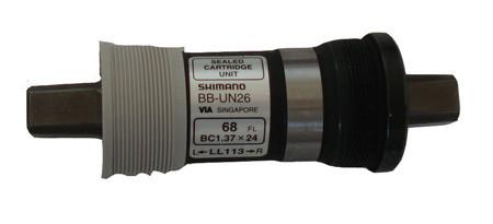 Каретка BB-UN26 BSA 68x117.5mm, 1.37x24