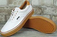Кеды Vans ERA 59 White/Classic Gum Оригинал, (унисекс), вансы, венсы