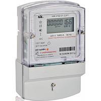 Счётчик однофазный электронный с радиомодулем и реле управления нагрузкой НИК 210-01.Е2Р1