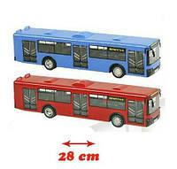 Play Smart Автобус инерционный «Автопром» со звуковыми и световыми эффектами