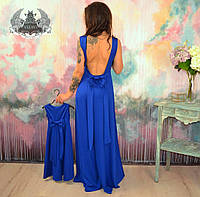 Платье с бантом для дочки