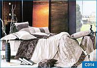 Постельное белье Сатин С 014 (полуторный)