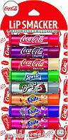 Бальзамы для губ Lip Smacker Coca Cola набор 8 шт, фото 1