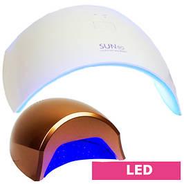 LED лампы, LED+CCFL лампы для ногтей
