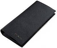 Кожаный кошелек Prada P-9023-1 черный