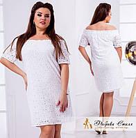 Белые платья с прошвами
