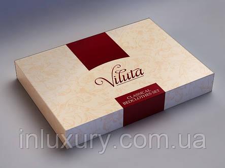 """Комплект постельного белья """"Viluta-сатин Твил"""", двуспальный, фото 2"""