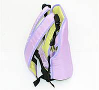 Гр Рюкзак-кенгуру №7 (1) сидя,цвет сиреневый.Предназначен для детей с двухмесячного возраста