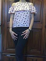 Молодежная блузка, S,M,L р-ры, 240/210 (цена за 1 шт. + 30 гр.)