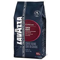 Кофе в зернах Lavazza Super Gusto 1000 g.