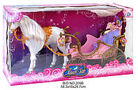 Карета 209 В с лошадью