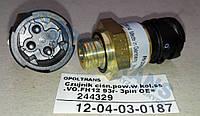 Датч  давл возд всасыв колл (турб) VO.FH12 93r- 3pin OE