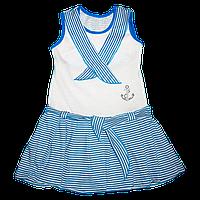 Платье для девочек Морячка