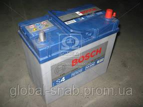 Аккумулятор   45Ah-12v BOSCH (S4022) (238x129x227),L,EN330 (Азия) тонк.клеммы РАСПРОДАЖА