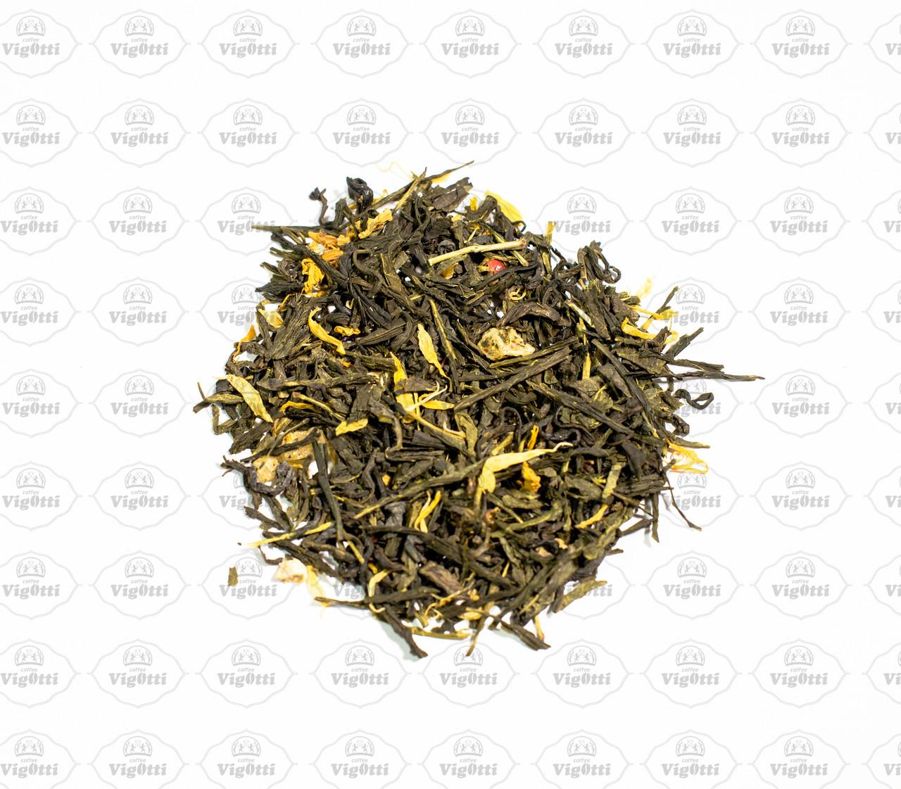 """Чай """"Зелений з імбирем"""""""