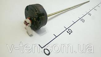 Терморегулятор для бойлера RTS 16А длинный с защитой и флажком Thermowatt (Италия)