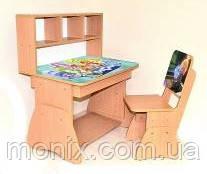 Детская парта и стульчик Фиксики 0159 - Интернет-магазин Моникс в Львове