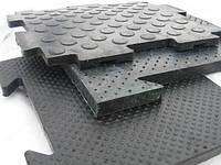 Модульное покрытие из резины с повышенной износостойкостью (20 мм)