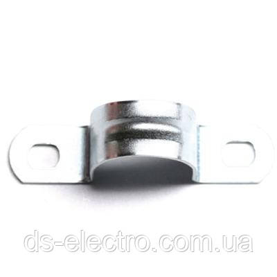 Держатель оцинкованный двусторонний, д.16мм, DKC, 53354