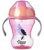 Чашка-непроливайка розовая (от 6 мес.), 230 мл, Tommee Tippee (44711087-2)