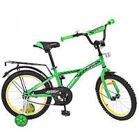 Велосипед PROFI детский  18д. G1832 Racer, зеленый