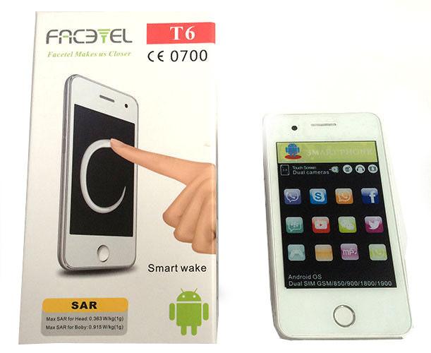 Мобильный телефон T6 Facetel Andr. 3.5'' 1н (50) - www.gadget24.com.ua в Киеве