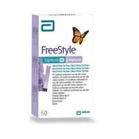 Тест-смужки FreeStyle Optium H -кетони, 50 шт