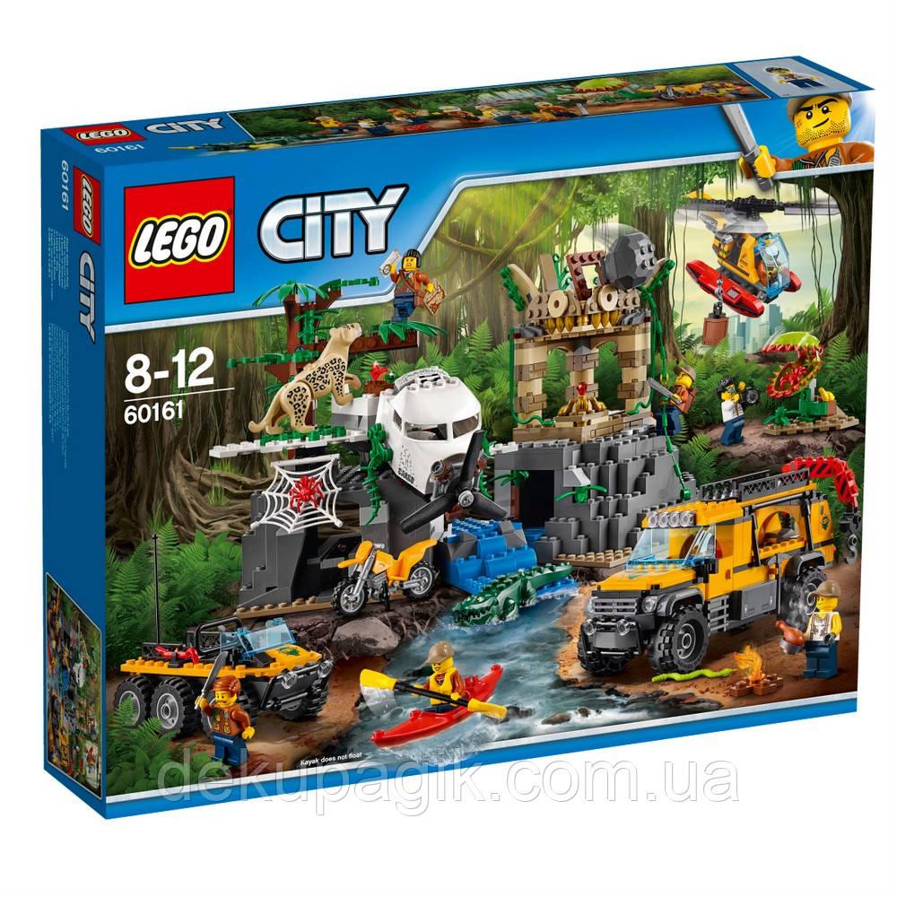 Lego City Джунгли: База исследователей джунглей 60161