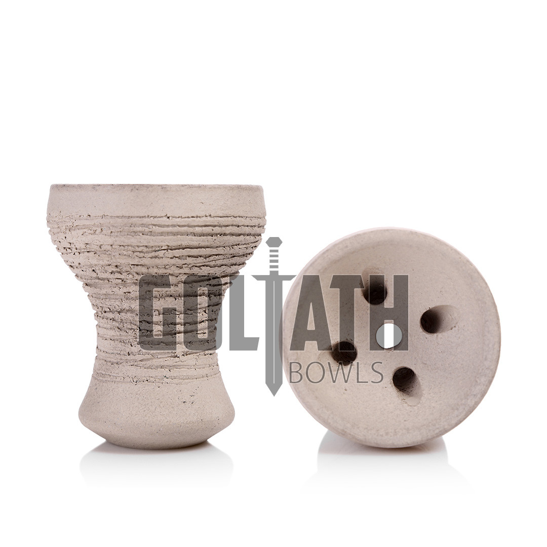 Чаша Goliath Bowl Turkish, White Grey